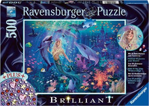 PUZZLE 500PC CHARMING MERMAIDS