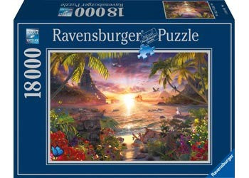 PUZZLE 18000 HEAVENLY SUNSET