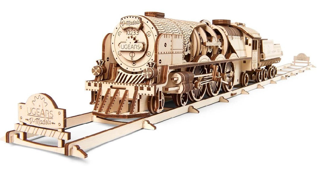 UGEARS V-EXPRESS STEAM TRAIN + TENDER
