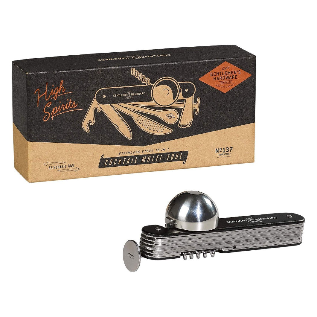 GENTLEMEN'S HARDWARE COCKTAIL MULTI TOOL