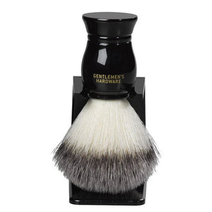 SHAVING BRUSH GENTLEMEN'S HARDWARE WITH STAND