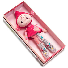 Load image into Gallery viewer, LILLIPUTIENS RED RIDING HOOD MINI DOLL
