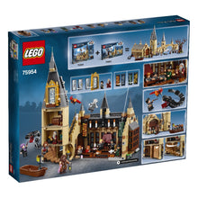 Load image into Gallery viewer, LEGO 75954 HARRY POTTER HOGWARTS GREAT HALL AGE 9-14