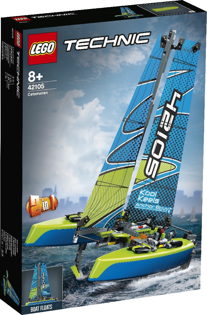 LEGO 42105 TECHNIC CATAMARAN AGE 8+