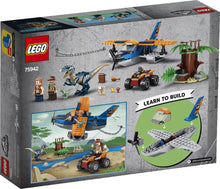 Load image into Gallery viewer, LEGO 75942 JURASSIC WORLD VELOCIRAPTOR AGE 4+