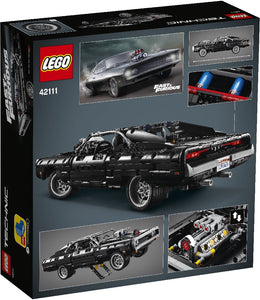 LEGO 42111 TECHNIC DOM'S DODGE CHARGER AGE 10+