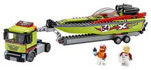 Load image into Gallery viewer, LEGO 60254 CITY RACE BOAT TRANSPORTER AGE 5+