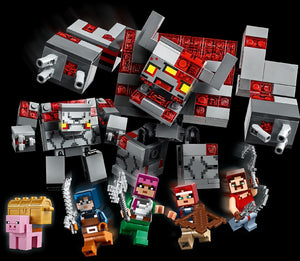 LEGO 21163 MINECRAFT THE REDSTONE BATTLE AGE 8+