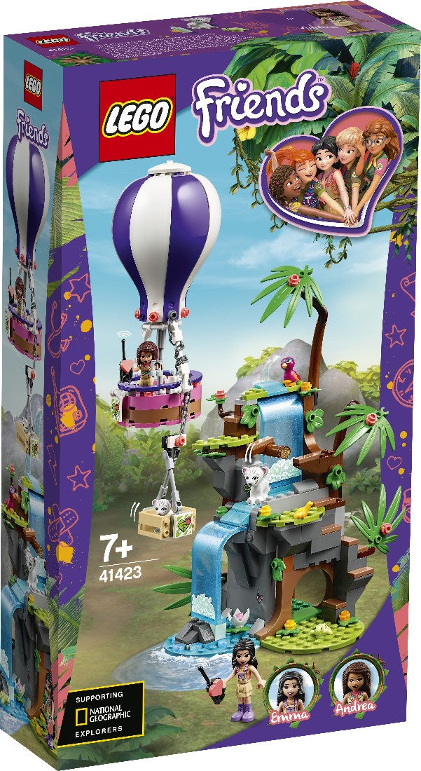 LEGO 41423 FRIENDS TIGER HOT AIR BALLOON JUNGLE RESCUE AGE 7+