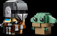 Load image into Gallery viewer, LEGO 75317 STAR WARS THE MANDALORIAN & THE CHILD BRICKHEADZ AGE 10+