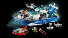 Load image into Gallery viewer, LEGO 60277 CITY POLICE PATROL BOAT AGE 5+
