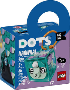 LEGO 41928 DOTS BAG TAG NARWHAL AGE 6+