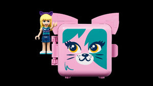 LEGO 41665 FRIENDS STEPHANIE'S CAT CUBE AGE 6+