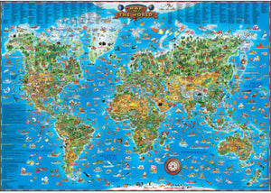 PUZZLE 300PC B-OPAL GIANT AROUND THE WORLD