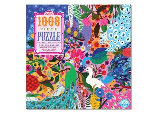 PUZZLE 1000 PEACOCKS EEBOO