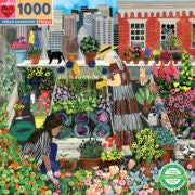 Load image into Gallery viewer, PUZZLE 1000PC URBAN GARDENING EEBOO