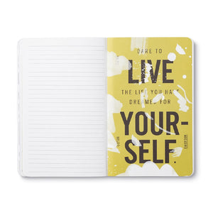 JOURNAL - WRITE NOW - DREAM BIG AND DARE TO FAIL