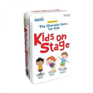 CARD GAME TIN KIDS ON STAGE CHARADES
