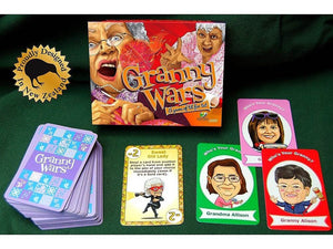 GRANNY WARS CARD GAME