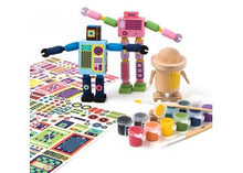Load image into Gallery viewer, KMM WOODEN ROBOTS KIT
