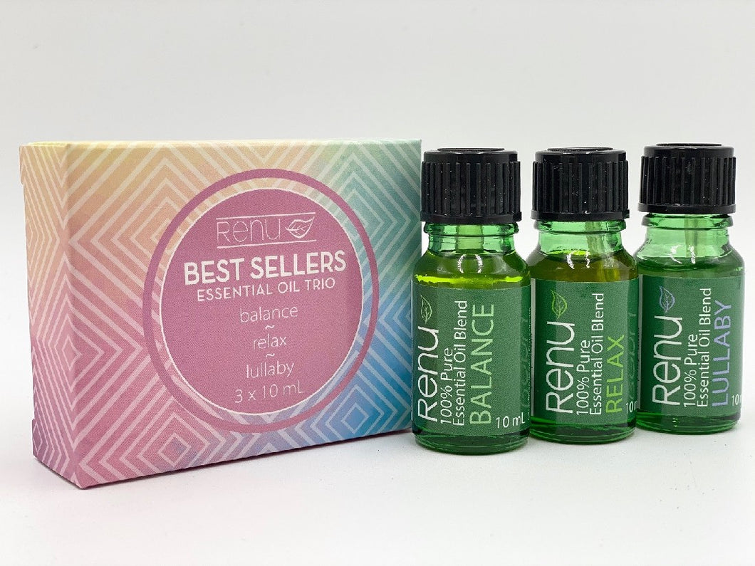 RENU BEST SELLERS ESSENTIAL OIL TRIO