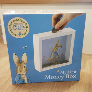 PETER RABBIT MONEY BOX GOOD BUNNY