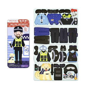 MAGNETIC PUZZLE BOX POLICE OFFICER