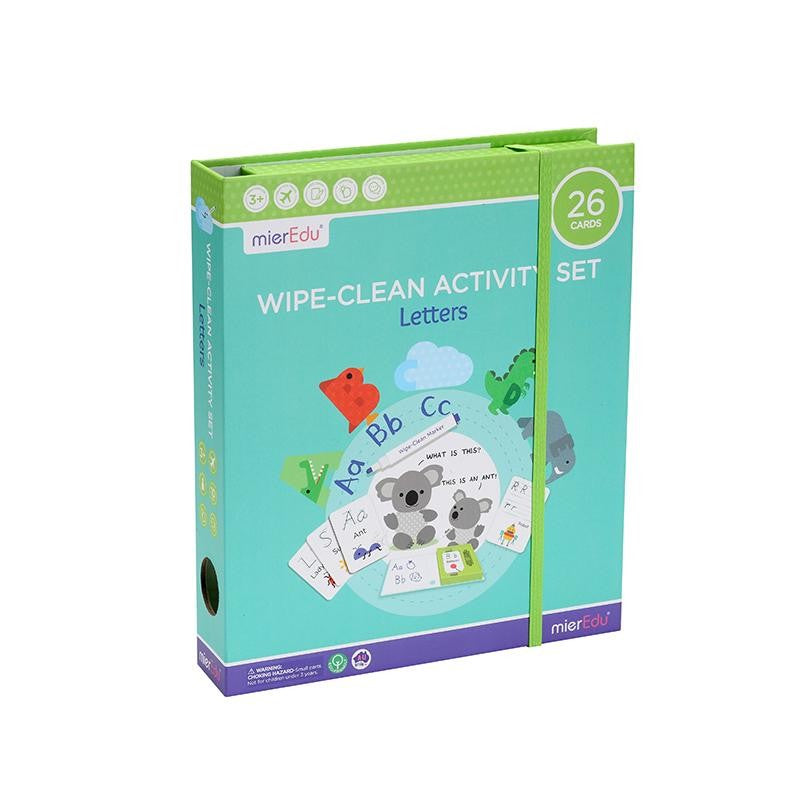 WIPE-CLEAN ACTIVITY SET LETTERS