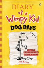 Load image into Gallery viewer, DOG DAYS DIARY OF A WIMPY KID BK4 - JEFF KINNEY