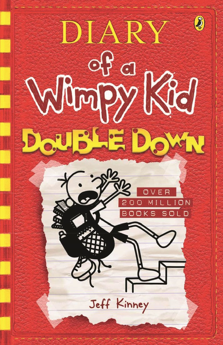 DOUBLE DOWN: DIARY OF A WIMPY KID BK11 - JEFF KINNEY