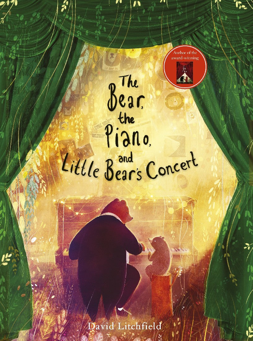 BEAR, THE PIANO AND LITTLE BEAR'S CONCERT - DAVID LITCHFIELD