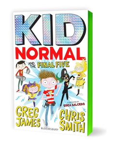 KID NORMAL AND THE FINAL FIVE - GREG JAMES