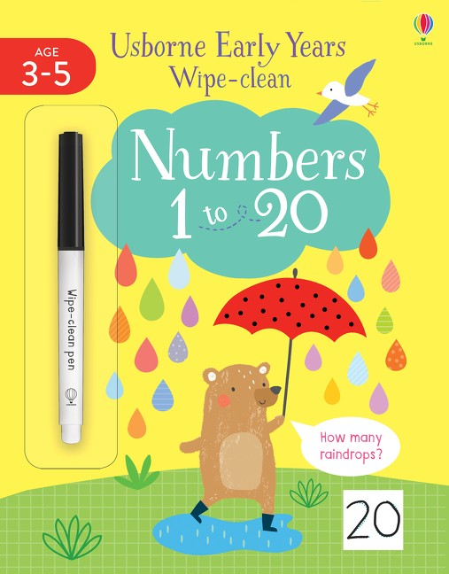 USBORNE EARLY YEARS WIPE CLEAN 1-26 - JESSICA GREENWELL