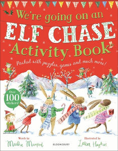 WE'RE GOING ON AN ELF CHASE ACTIVITY BOOK - MARTHA MUMFORD