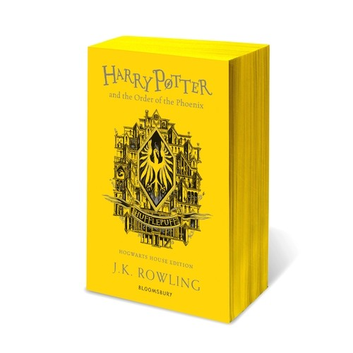 HP ORDER OF THE PHOENIX HUFFLEPUFF EDITION