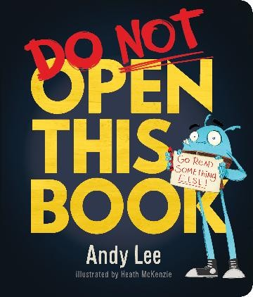 DO NOT OPEN THIS BOOK - ANDY LEE