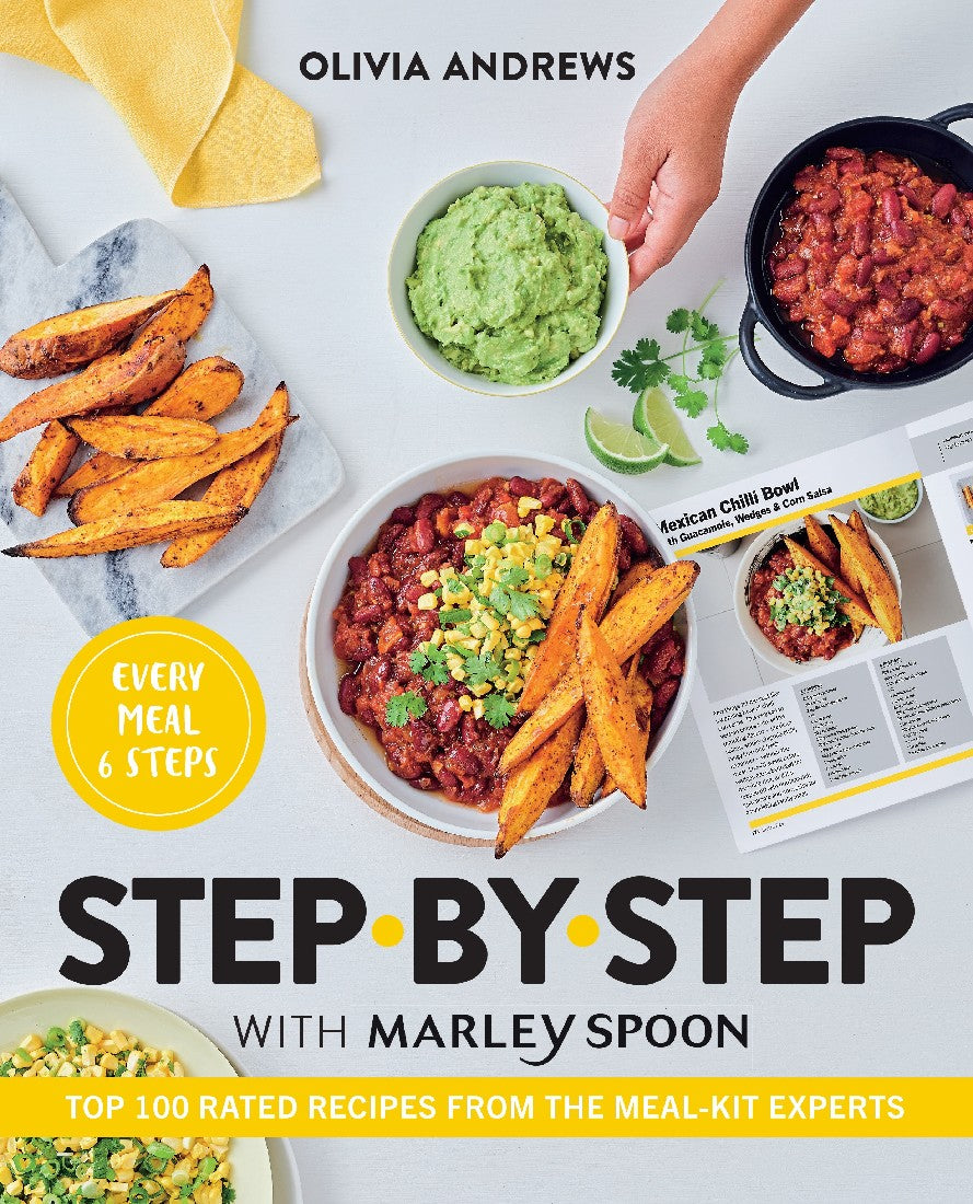 STEP BY STEP WITH MARLEY SPOON - OLIVIA ANDREWS