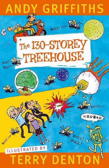 THE 130 STOREY TREEHOUSE - ANDY GRIFFITHS