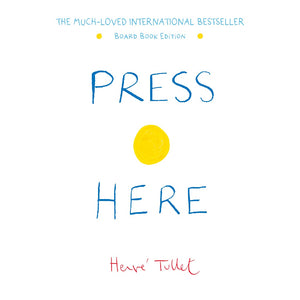 PRESS HERE BOARD BOOK - HERVE TULLET