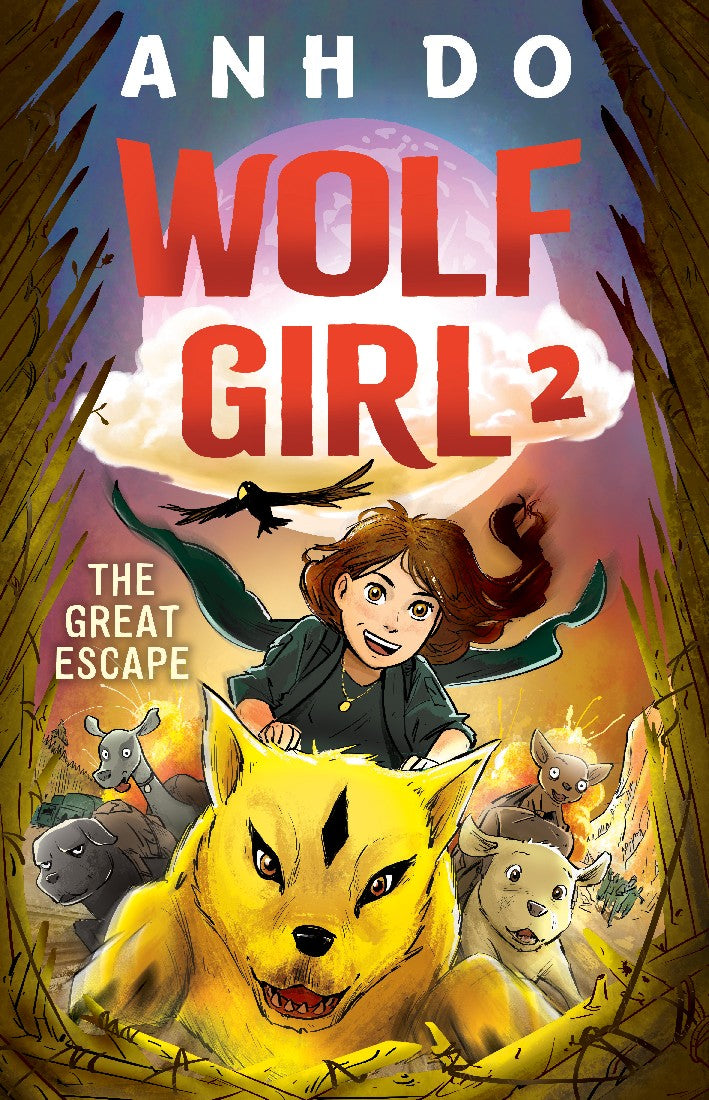 WOLF GIRL 2 THE GREAT ESCAPE - ANH DO