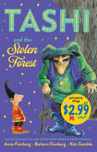 TASHI AND THE STOLEN FOREST - ANNA FIENBERG