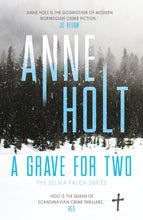 Load image into Gallery viewer, A GRAVE FOR TWO - ANNE HOLT