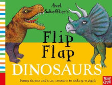 Load image into Gallery viewer, FLIP FLAP DINOSAURS - AXEL SCHEFFLER