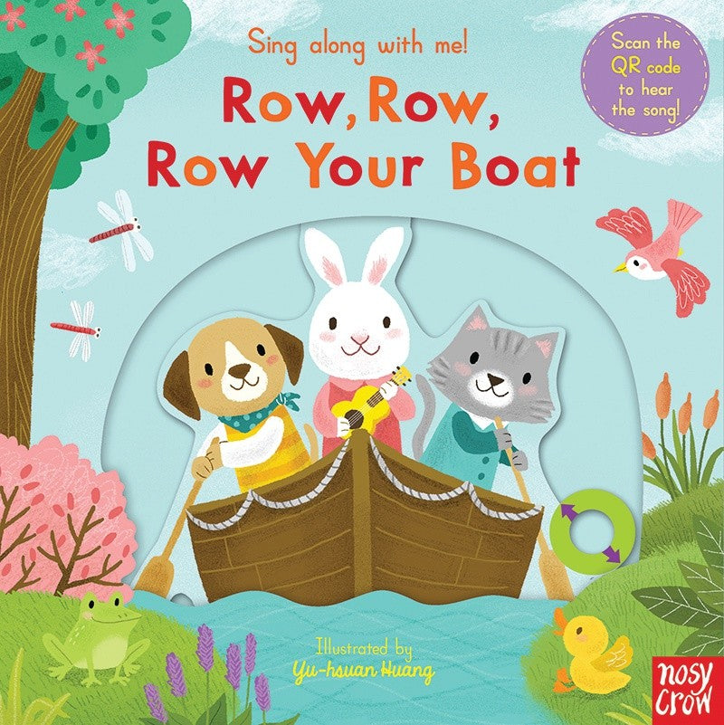 ROW, ROW, ROW YOUR BOAT SING ALONG WITH ME