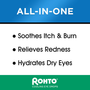 Rohto® Ice Multi-Symptom Eye Drops