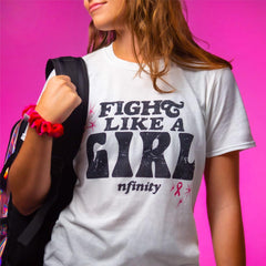 BCA FIGHT LIKE A GIRL TEE – ADULT T-Shirt Nfinity