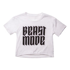 BEAST MODE CROP TOP T-Shirt NfinityiNsiders XS