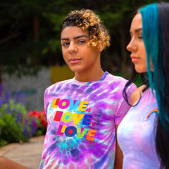 LOVE IS LOVE T-SHIRT T-Shirt NfinityiNsiders S