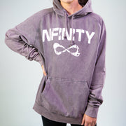 MINERAL WASH CLASSIC HOODIE Outerwear Nfinity GRAY S