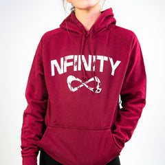 MINERAL WASH CLASSIC HOODIE Outerwear Nfinity RED S